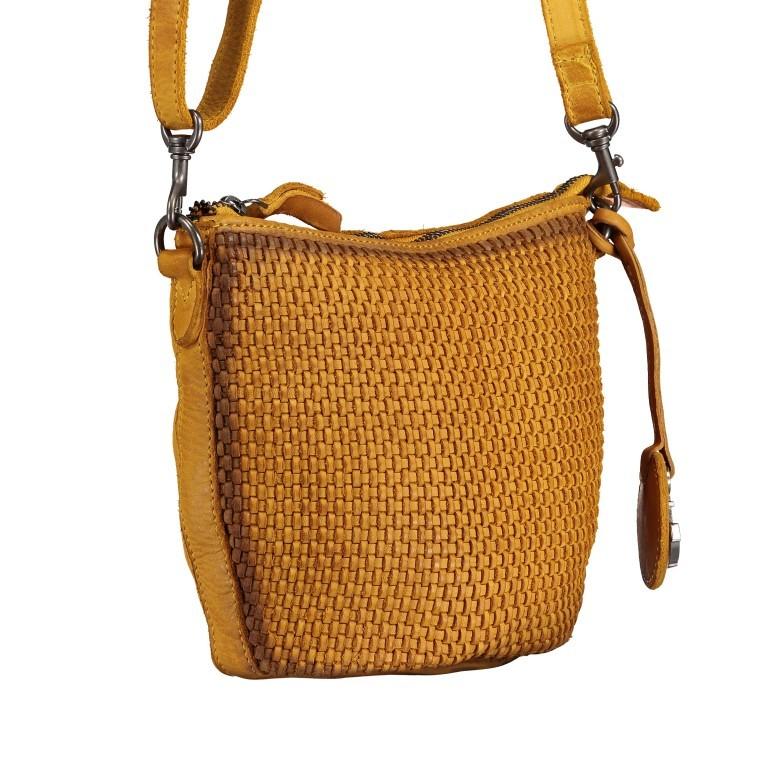 Umhängetasche Soft-Weaving Verna B3.9795 Oriental Mustard, Farbe: gelb, Marke: Harbour 2nd, EAN: 4046478044487, Abmessungen in cm: 24.0x18.0x8.0, Bild 2 von 6