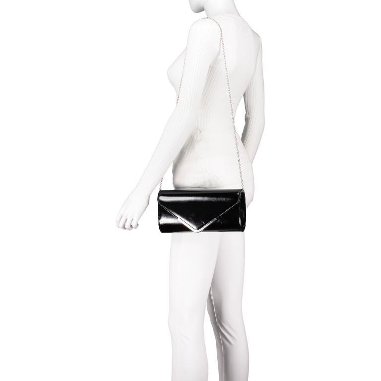 Umhängetasche / Clutch Amalia Black, Farbe: schwarz, Marke: Tamaris, EAN: 4063512000209, Abmessungen in cm: 26.0x13.0x5.0, Bild 4 von 7