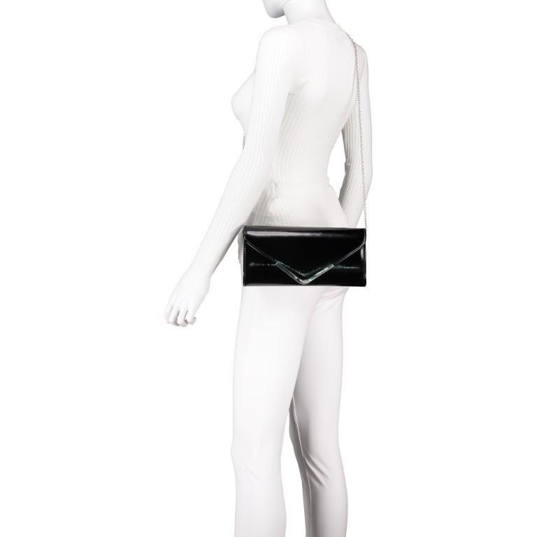 Umhängetasche / Clutch Amalia Black, Farbe: schwarz, Marke: Tamaris, EAN: 4063512000209, Abmessungen in cm: 26.0x13.0x5.0, Bild 5 von 7