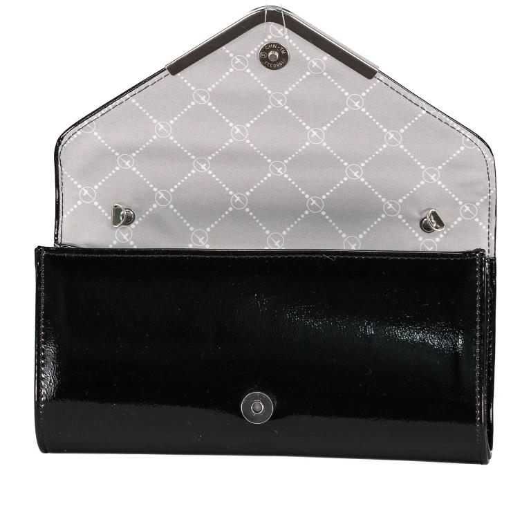 Umhängetasche / Clutch Amalia Black, Farbe: schwarz, Marke: Tamaris, EAN: 4063512000209, Abmessungen in cm: 26.0x13.0x5.0, Bild 6 von 7