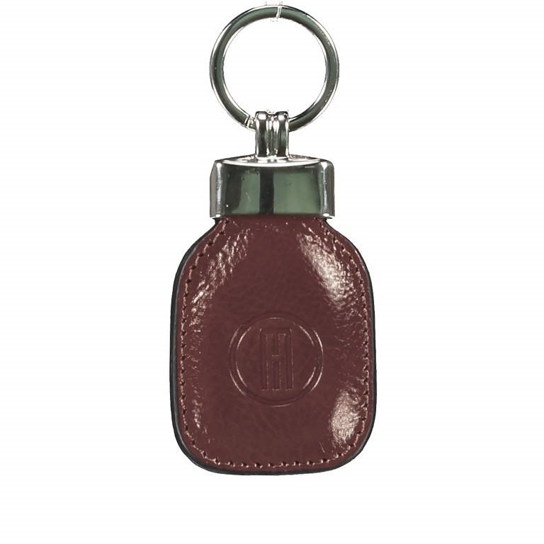 Schlüsselanhänger Braun, Farbe: braun, Marke: Hausfelder, EAN: 4065646000759, Abmessungen in cm: 4.5x10.0x1.0, Bild 1 von 1