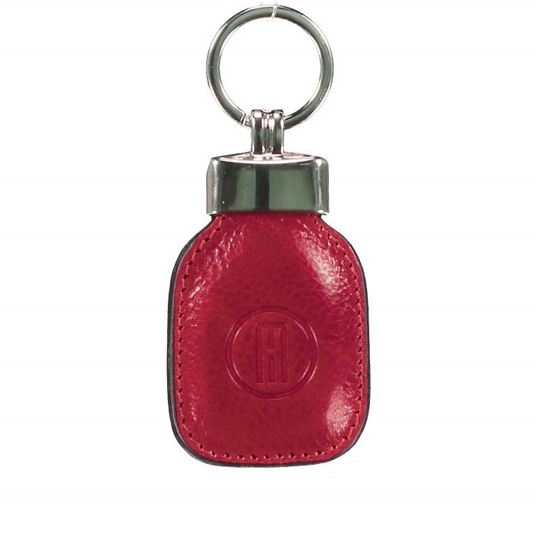 Schlüsselanhänger Rot, Farbe: rot/weinrot, Marke: Hausfelder, EAN: 4065646000773, Abmessungen in cm: 4.5x10.0x1.0, Bild 1 von 1