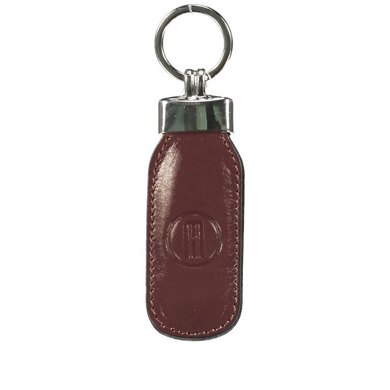 Schlüsselanhänger Braun, Farbe: braun, Marke: Hausfelder, EAN: 4065646000797, Abmessungen in cm: 3.5x12.0x1.0, Bild 1 von 1