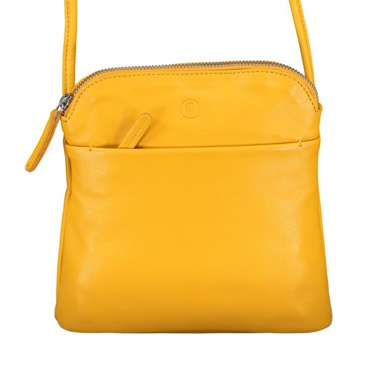 Umhängetasche Milano Karen Gelb, Farbe: gelb, Marke: Hausfelder, EAN: 4251672756061, Abmessungen in cm: 19.0x22.0x5.0, Bild 1 von 6