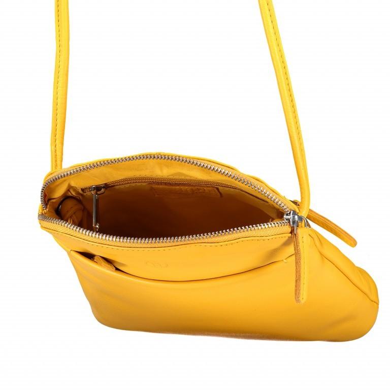 Umhängetasche Milano Karen Gelb, Farbe: gelb, Marke: Hausfelder, EAN: 4251672756061, Abmessungen in cm: 19.0x22.0x5.0, Bild 6 von 6