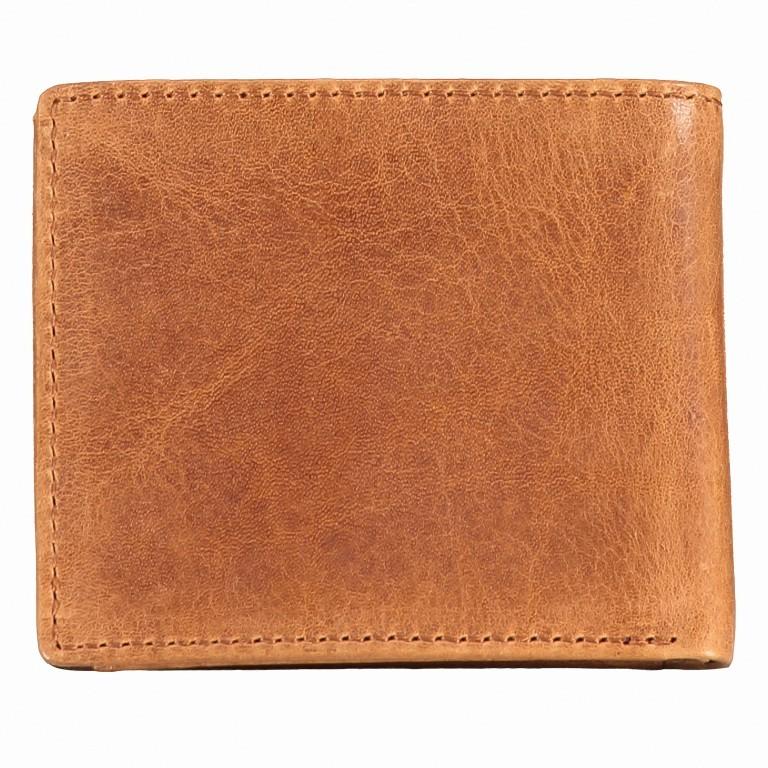 Geldbörse Amra Folkland Cognac, Farbe: cognac, Marke: Hausfelder, EAN: 4251672750014, Abmessungen in cm: 11.0x9.5x2.0, Bild 3 von 5