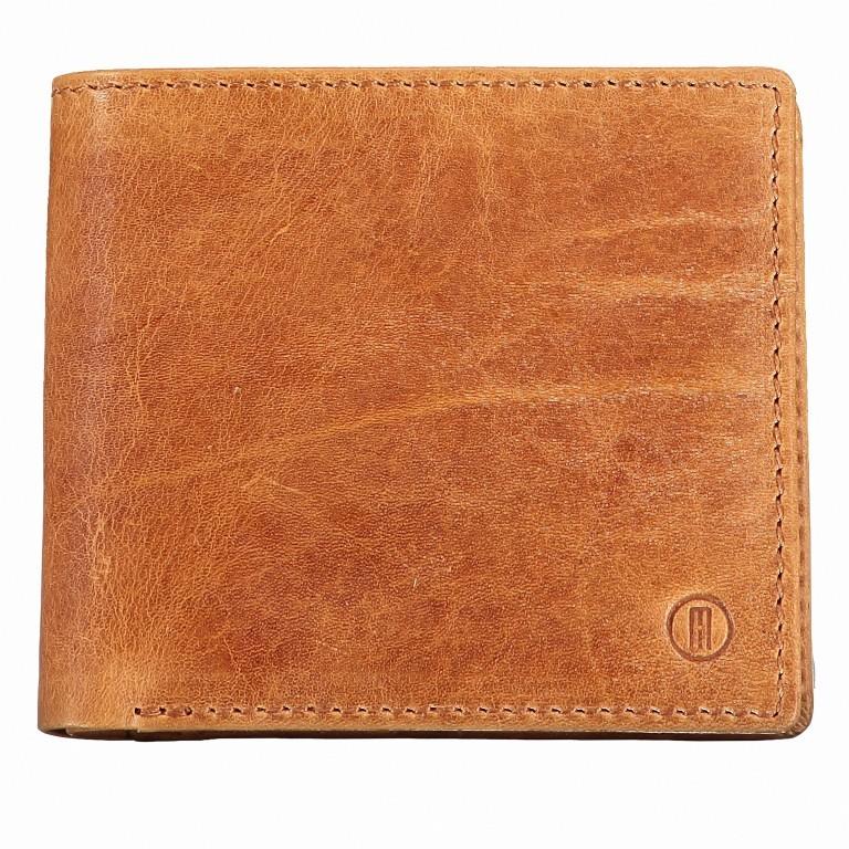 Geldbörse Amra Folkland Cognac, Farbe: cognac, Marke: Hausfelder, EAN: 4251672750021, Abmessungen in cm: 12.0x10.0x2.0, Bild 1 von 5