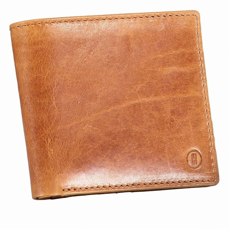 Geldbörse Amra Folkland Cognac, Farbe: cognac, Marke: Hausfelder, EAN: 4251672750021, Abmessungen in cm: 12.0x10.0x2.0, Bild 2 von 5