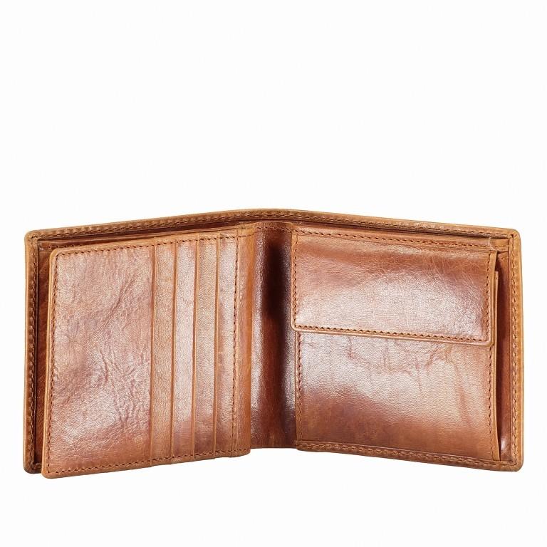 Geldbörse Amra Folkland Cognac, Farbe: cognac, Marke: Hausfelder, EAN: 4251672750021, Abmessungen in cm: 12.0x10.0x2.0, Bild 5 von 5