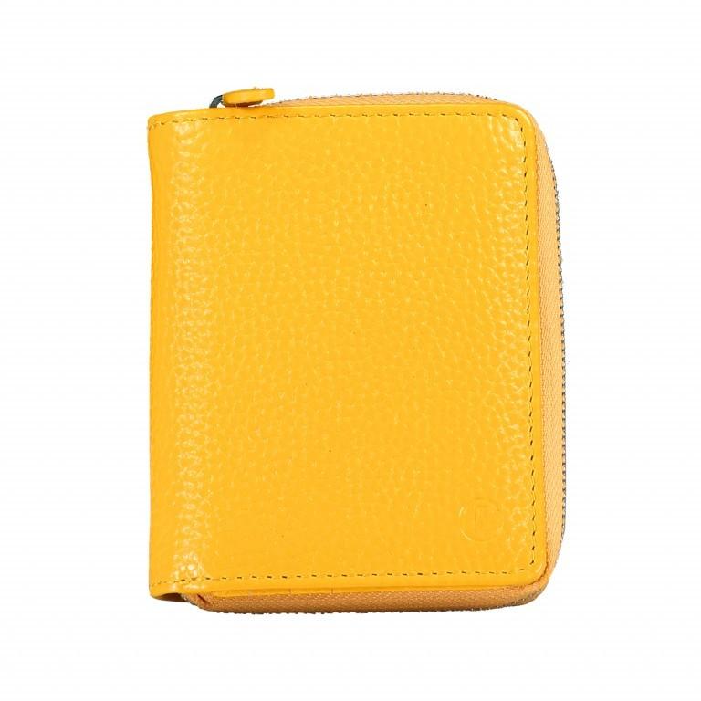 Geldbörse Amra Bradley mit RFID-Schutz Gelb, Farbe: gelb, Marke: Hausfelder, EAN: 4251672748318, Abmessungen in cm: 9.0x11.0x3.0, Bild 1 von 5