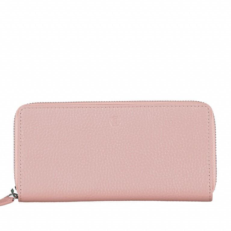 Geldbörse Amra Bradley mit RFID-Funktion Rosa, Farbe: rosa/pink, Marke: Hausfelder, EAN: 4251672748363, Abmessungen in cm: 19.0x9.5x2.0, Bild 1 von 5