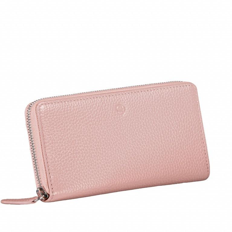 Geldbörse Amra Bradley mit RFID-Funktion Rosa, Farbe: rosa/pink, Marke: Hausfelder, EAN: 4251672748363, Abmessungen in cm: 19.0x9.5x2.0, Bild 2 von 5