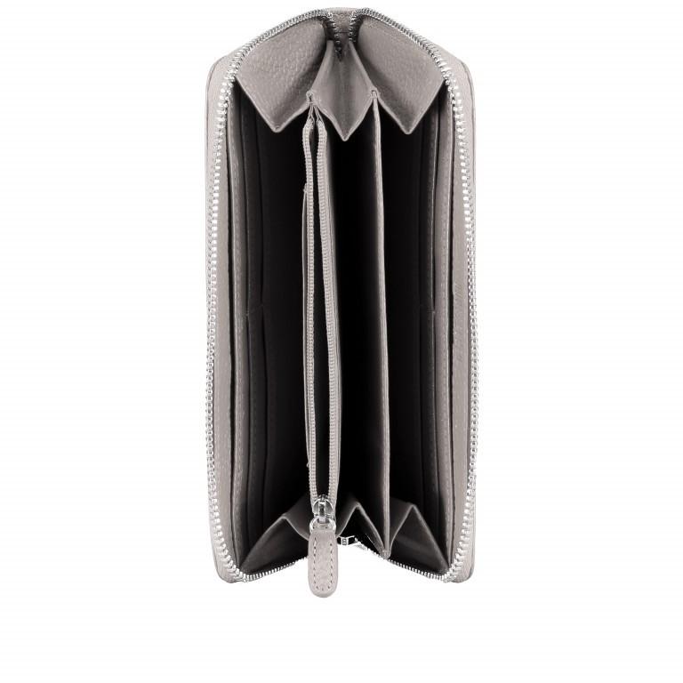Geldbörse Amra Bradley mit RFID-Funktion Schwarz, Farbe: schwarz, Marke: Hausfelder, EAN: 4251672748431, Abmessungen in cm: 19.0x9.5x2.0, Bild 4 von 5