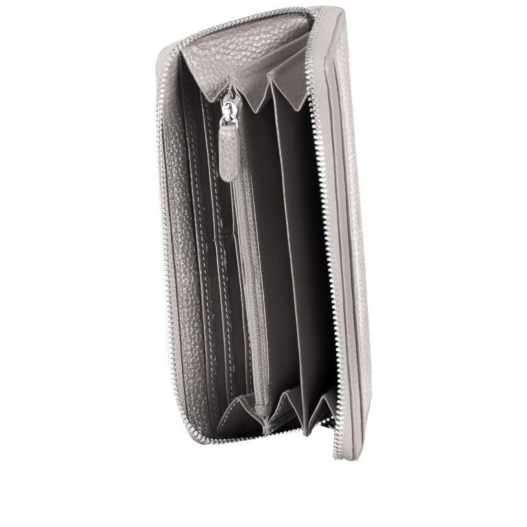 Geldbörse Amra Bradley mit RFID-Funktion Schwarz, Farbe: schwarz, Marke: Hausfelder, EAN: 4251672748431, Abmessungen in cm: 19.0x9.5x2.0, Bild 5 von 5
