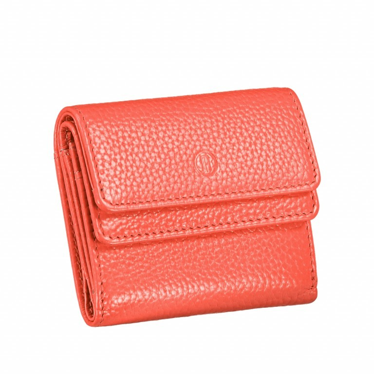 Geldbörse Amra Bradley mit RFID-Schutz Koralle, Farbe: orange, Marke: Hausfelder, EAN: 4251672748455, Abmessungen in cm: 10.5x8.5x3.0, Bild 2 von 5
