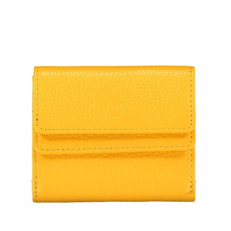 Geldbörse Amra Bradley mit RFID-Schutz Gelb, Farbe: gelb, Marke: Hausfelder, EAN: 4251672748462, Abmessungen in cm: 10.5x8.5x3.0, Bild 1 von 5