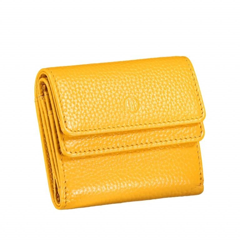 Geldbörse Amra Bradley mit RFID-Schutz Gelb, Farbe: gelb, Marke: Hausfelder, EAN: 4251672748462, Abmessungen in cm: 10.5x8.5x3.0, Bild 2 von 5