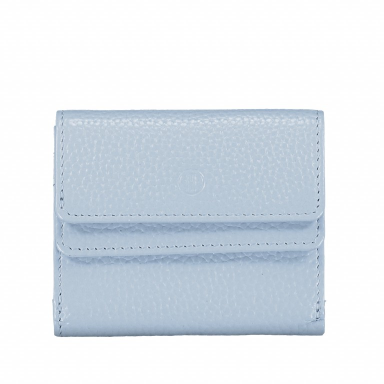 Geldbörse Amra Bradley mit RFID-Schutz Hellblau, Farbe: blau/petrol, Marke: Hausfelder, EAN: 4251672748479, Abmessungen in cm: 10.5x8.5x3.0, Bild 1 von 5