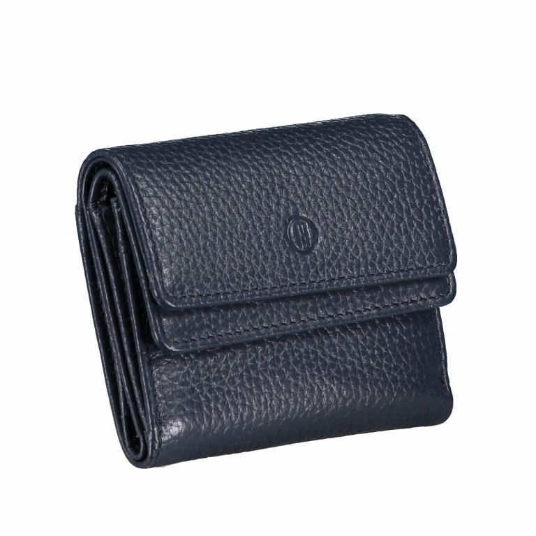 Geldbörse Amra Bradley mit RFID-Schutz Dunkelblau, Farbe: blau/petrol, Marke: Hausfelder, EAN: 4251672748486, Abmessungen in cm: 10.5x8.5x3.0, Bild 2 von 5