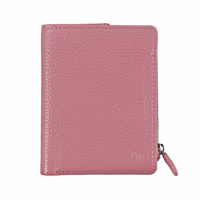 Geldbörse Amra Bradley mit RFID-Funktion Rose, Farbe: rosa/pink, Marke: Hausfelder, EAN: 4251672748608, Abmessungen in cm: 9.5x12.5x1.5, Bild 1 von 5
