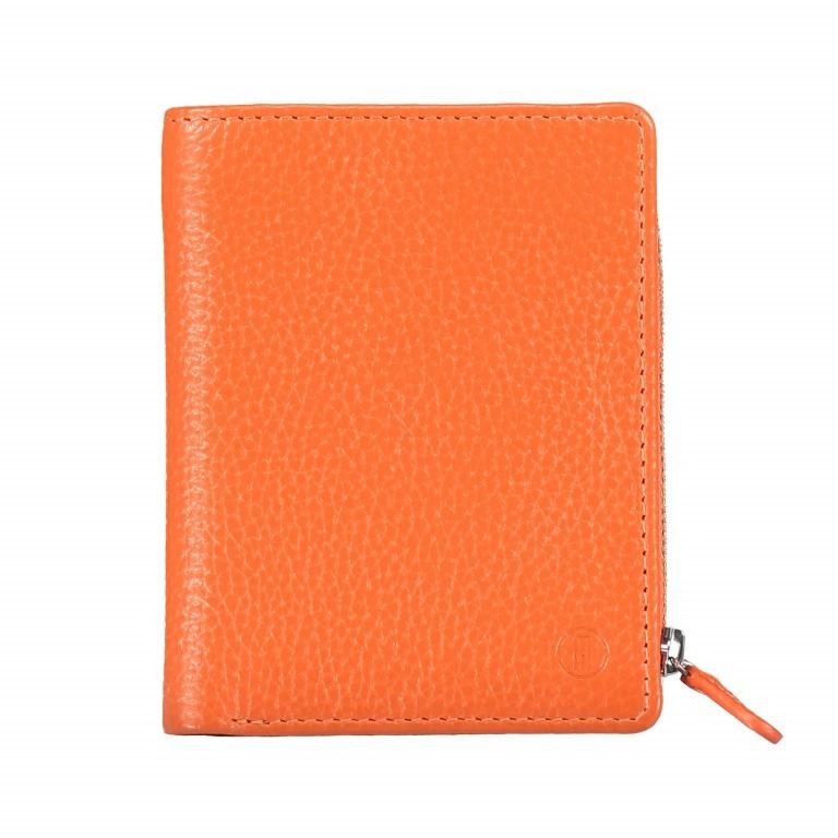 Geldbörse Amra Bradley mit RFID-Funktion Orange, Farbe: orange, Marke: Hausfelder, EAN: 4251672748639, Abmessungen in cm: 9.5x12.5x1.5, Bild 1 von 5