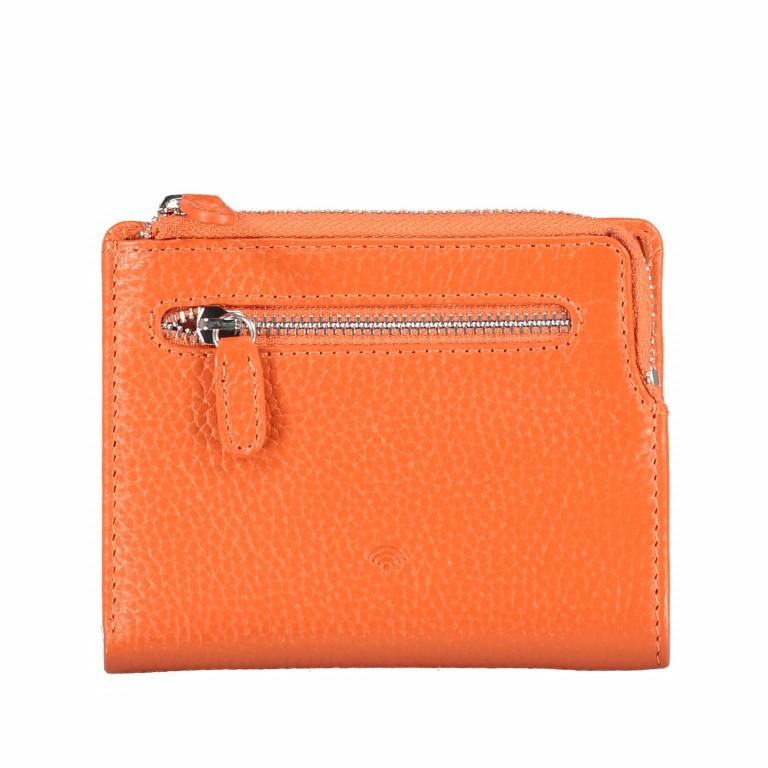 Geldbörse Amra Bradley mit RFID-Funktion Orange, Farbe: orange, Marke: Hausfelder, EAN: 4251672748639, Abmessungen in cm: 9.5x12.5x1.5, Bild 3 von 5
