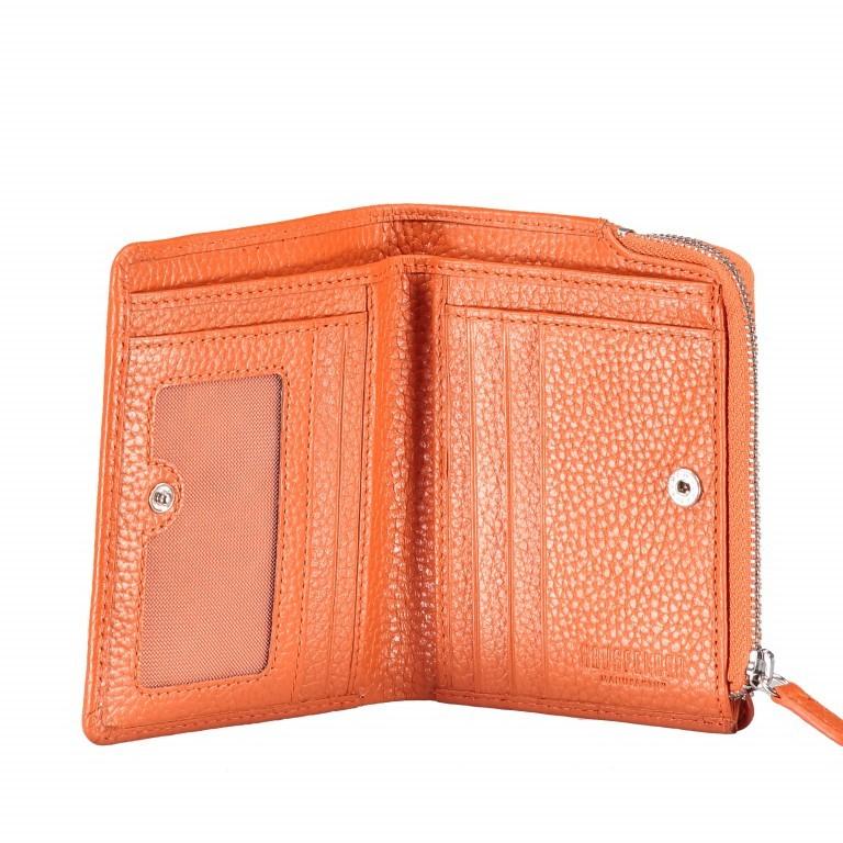 Geldbörse Amra Bradley mit RFID-Funktion Orange, Farbe: orange, Marke: Hausfelder, EAN: 4251672748639, Abmessungen in cm: 9.5x12.5x1.5, Bild 4 von 5