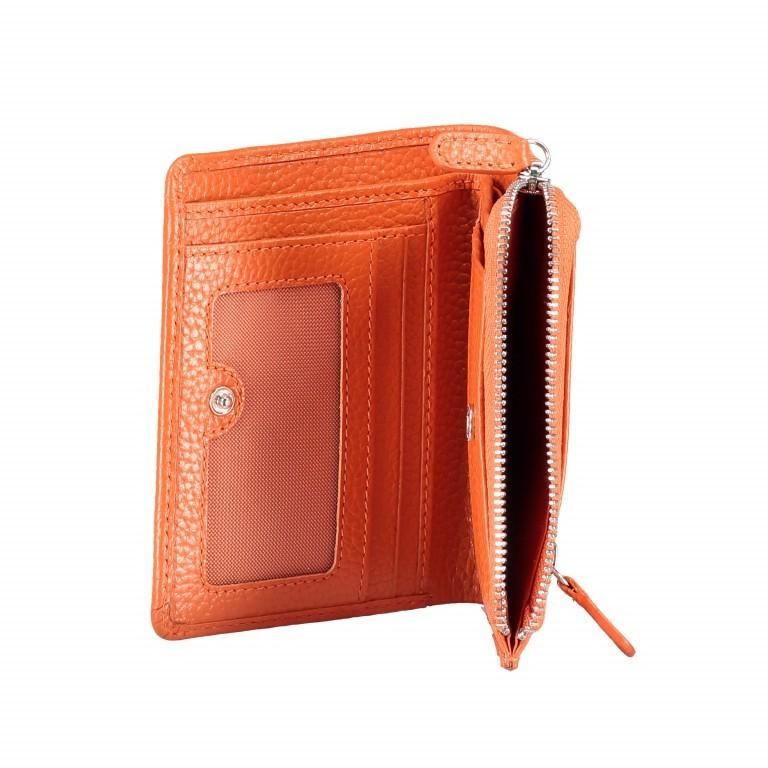 Geldbörse Amra Bradley mit RFID-Funktion Orange, Farbe: orange, Marke: Hausfelder, EAN: 4251672748639, Abmessungen in cm: 9.5x12.5x1.5, Bild 5 von 5