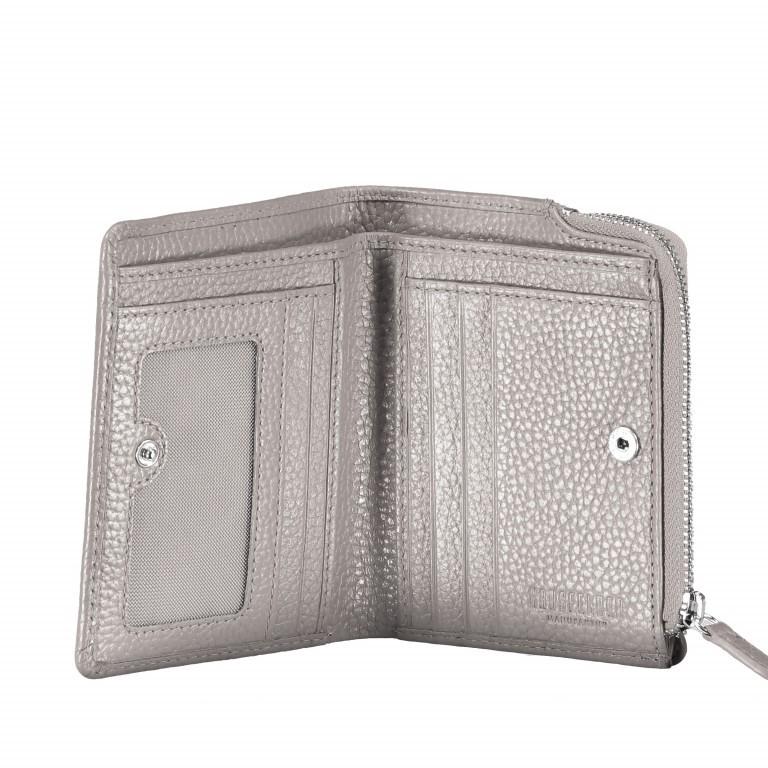 Geldbörse Amra Bradley mit RFID-Funktion Schwarz, Farbe: schwarz, Marke: Hausfelder, EAN: 4251672748677, Abmessungen in cm: 9.5x12.5x1.5, Bild 4 von 5