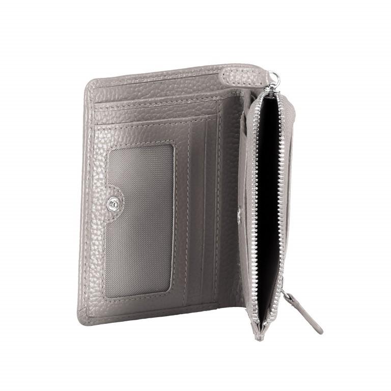 Geldbörse Amra Bradley mit RFID-Funktion Schwarz, Farbe: schwarz, Marke: Hausfelder, EAN: 4251672748677, Abmessungen in cm: 9.5x12.5x1.5, Bild 5 von 5