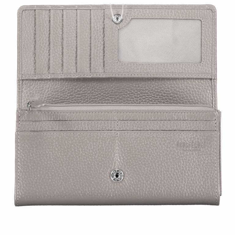 Geldbörse Amra Bradley mit RFID-Funktion Dunkelblau, Farbe: blau/petrol, Marke: Hausfelder, EAN: 4251672748721, Abmessungen in cm: 19.0x9.5x2.5, Bild 4 von 5