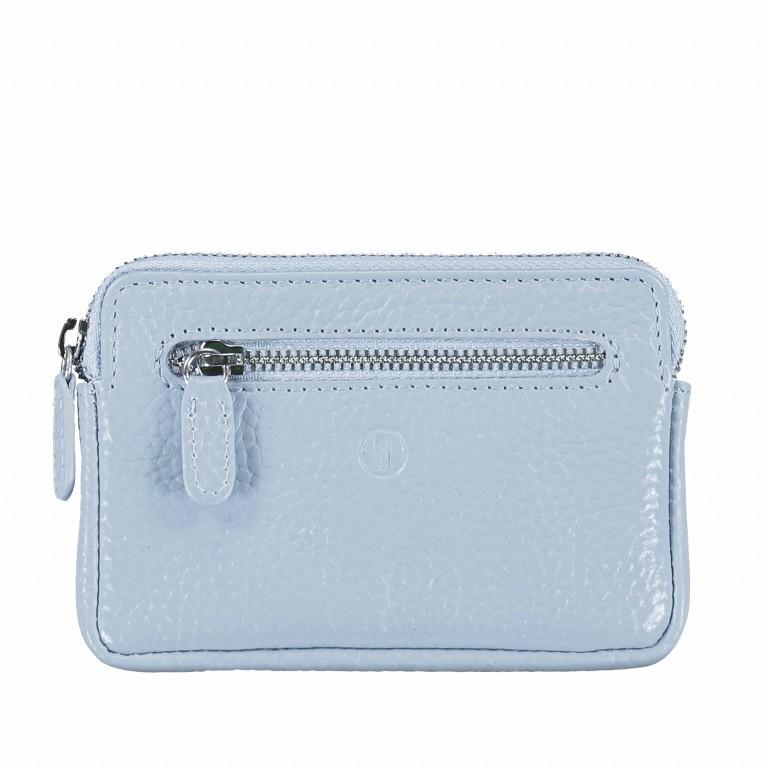 Schlüsseletui Amra Bradley mit RFID-Funktion Hellblau, Farbe: blau/petrol, Marke: Hausfelder, EAN: 4251672748806, Abmessungen in cm: 12.0x8.0x0.5, Bild 1 von 4