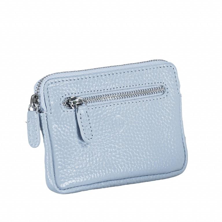 Schlüsseletui Amra Bradley mit RFID-Funktion Hellblau, Farbe: blau/petrol, Marke: Hausfelder, EAN: 4251672748806, Abmessungen in cm: 12.0x8.0x0.5, Bild 2 von 4