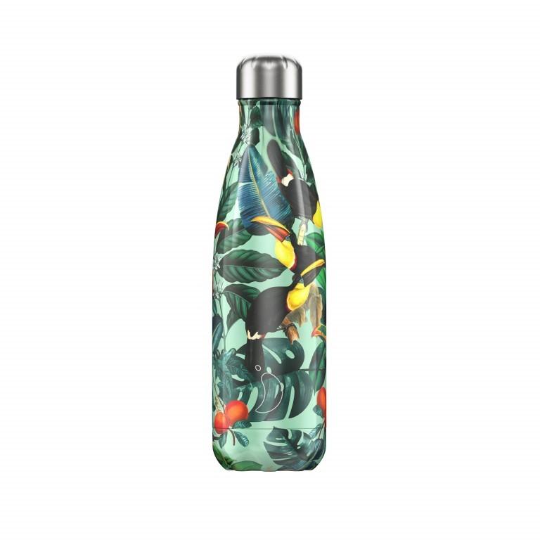 Trinkflasche Tropical Volumen 500 ml Green, Farbe: grün/oliv, Marke: Chilly's Bottles, EAN: 5056243501625, Bild 1 von 1