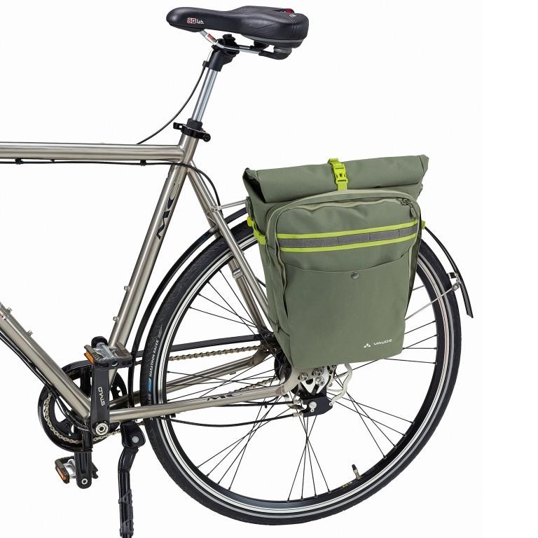 Fahrradtasche ExCycling Back Cedar Wood, Farbe: grün/oliv, Marke: Vaude, EAN: 4052285592738, Abmessungen in cm: 37.0x48.0x26.0, Bild 3 von 4