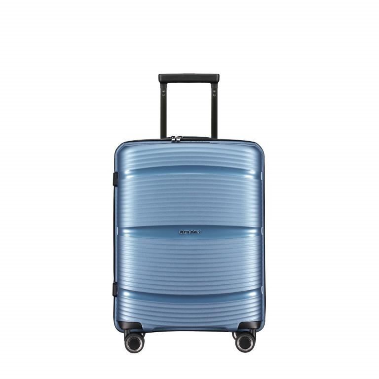 Koffer PP11 55 cm Ice Blue, Farbe: blau/petrol, Marke: Franky, EAN: 4251672738722, Abmessungen in cm: 39.5x55.0x20.0, Bild 1 von 10