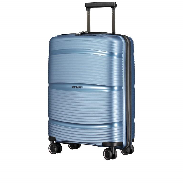 Koffer PP11 55 cm Ice Blue, Farbe: blau/petrol, Marke: Franky, EAN: 4251672738722, Abmessungen in cm: 39.5x55.0x20.0, Bild 2 von 10