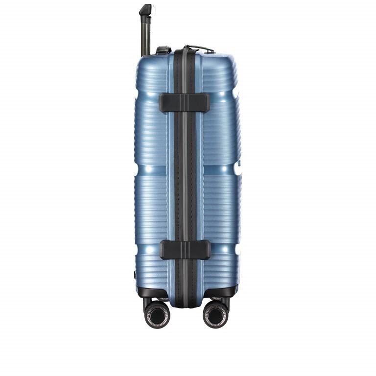 Koffer PP11 55 cm Ice Blue, Farbe: blau/petrol, Marke: Franky, EAN: 4251672738722, Abmessungen in cm: 39.5x55.0x20.0, Bild 4 von 10