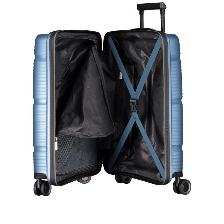 Koffer PP11 55 cm Grey Metallic, Farbe: grau, Marke: Franky, EAN: 4251672738814, Abmessungen in cm: 39.5x55.0x20.0, Bild 9 von 10