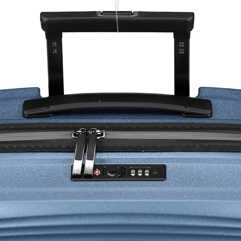 Koffer PP11 55 cm Grey Metallic, Farbe: grau, Marke: Franky, EAN: 4251672738814, Abmessungen in cm: 39.5x55.0x20.0, Bild 10 von 10