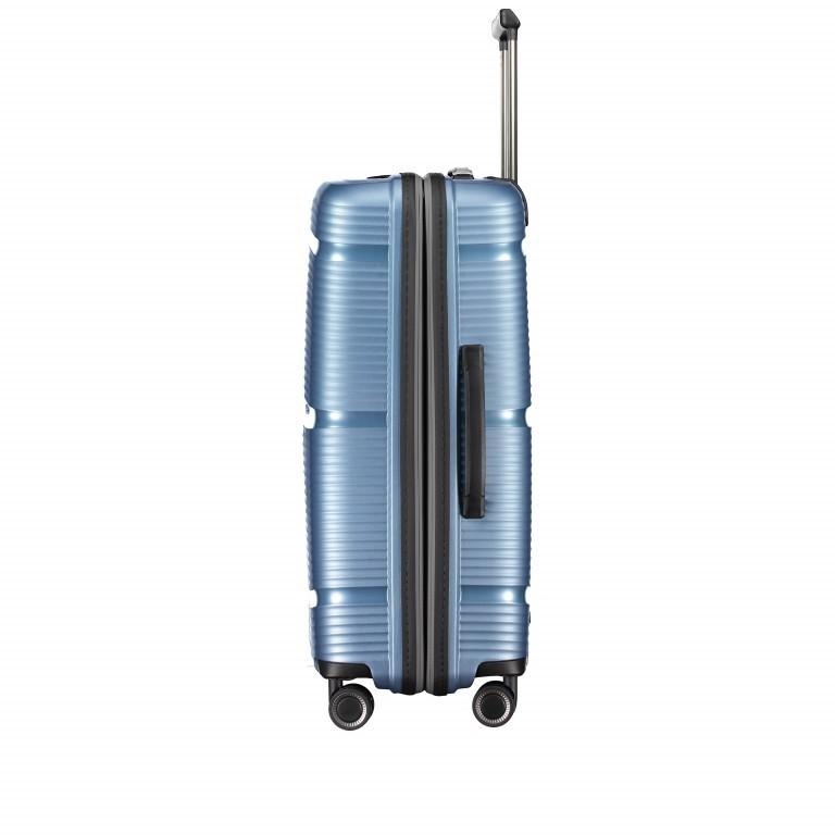 Koffer PP11 66 cm Grey Metallic, Farbe: grau, Marke: Franky, EAN: 4251672738821, Abmessungen in cm: 45.5x66.0x26.0, Bild 3 von 10