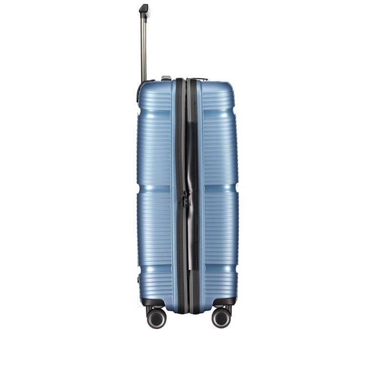 Koffer PP11 66 cm Grey Metallic, Farbe: grau, Marke: Franky, EAN: 4251672738821, Abmessungen in cm: 45.5x66.0x26.0, Bild 4 von 10