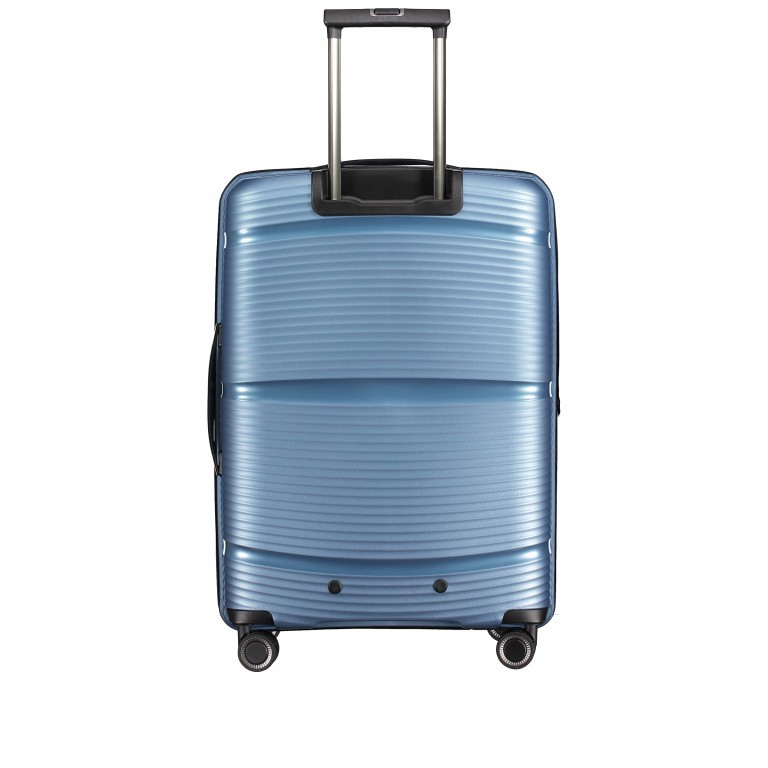 Koffer PP11 66 cm Grey Metallic, Farbe: grau, Marke: Franky, EAN: 4251672738821, Abmessungen in cm: 45.5x66.0x26.0, Bild 6 von 10