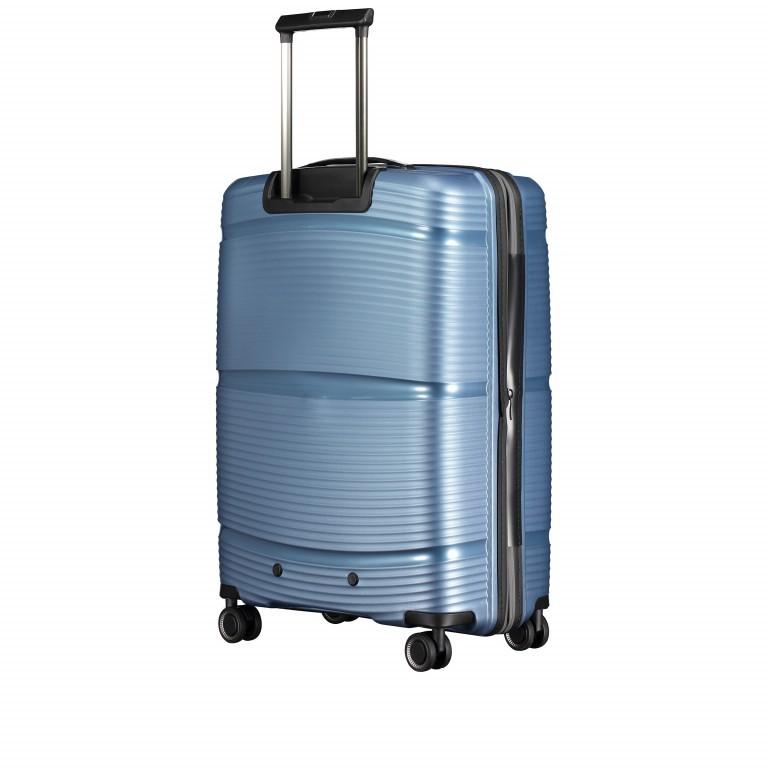 Koffer PP11 66 cm Grey Metallic, Farbe: grau, Marke: Franky, EAN: 4251672738821, Abmessungen in cm: 45.5x66.0x26.0, Bild 7 von 10