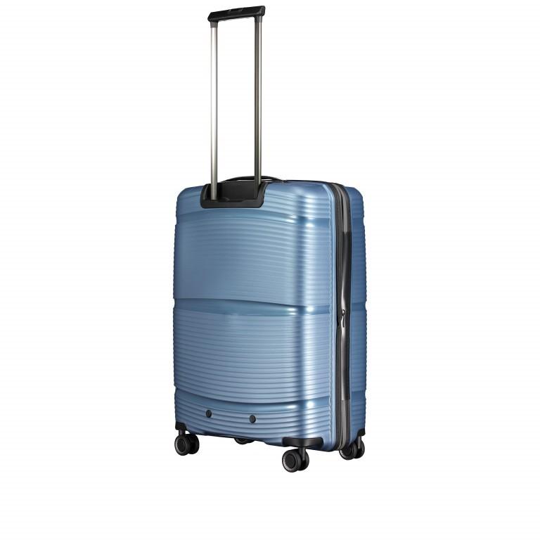 Koffer PP11 66 cm Grey Metallic, Farbe: grau, Marke: Franky, EAN: 4251672738821, Abmessungen in cm: 45.5x66.0x26.0, Bild 8 von 10