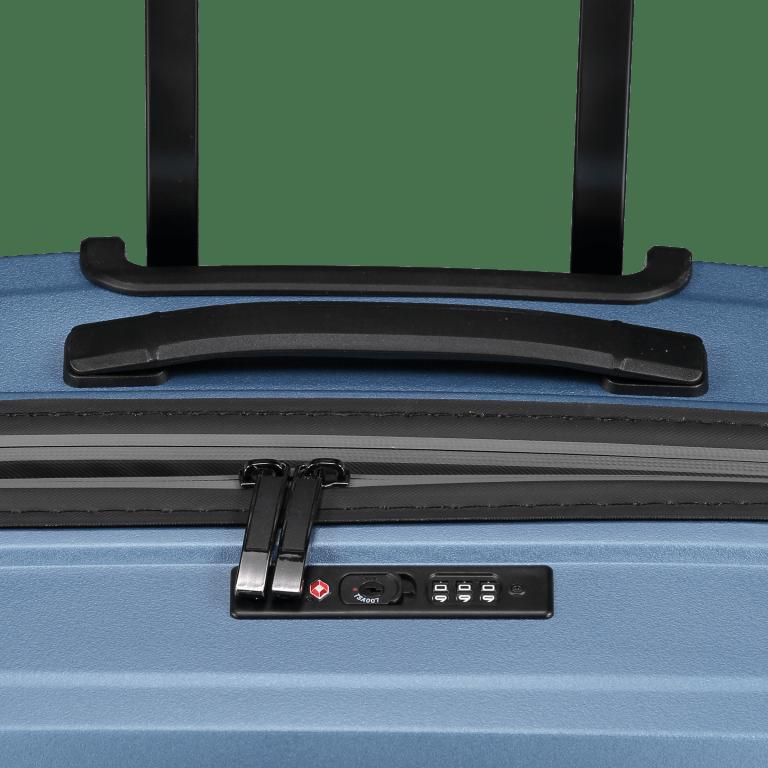 Koffer PP11 66 cm Grey Metallic, Farbe: grau, Marke: Franky, EAN: 4251672738821, Abmessungen in cm: 45.5x66.0x26.0, Bild 10 von 10