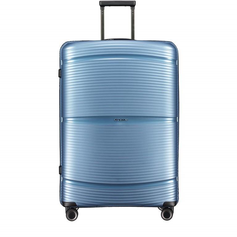 Koffer PP11 75 cm Ice Blue, Farbe: blau/petrol, Marke: Franky, EAN: 4251672738746, Abmessungen in cm: 52.0x75.0x31.0, Bild 1 von 8