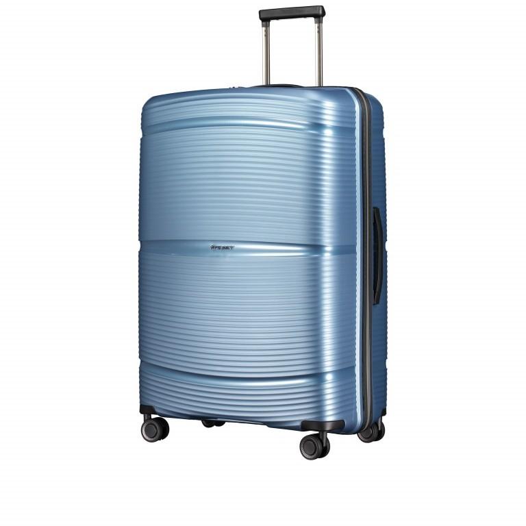 Koffer PP11 75 cm Ice Blue, Farbe: blau/petrol, Marke: Franky, EAN: 4251672738746, Abmessungen in cm: 52.0x75.0x31.0, Bild 2 von 8