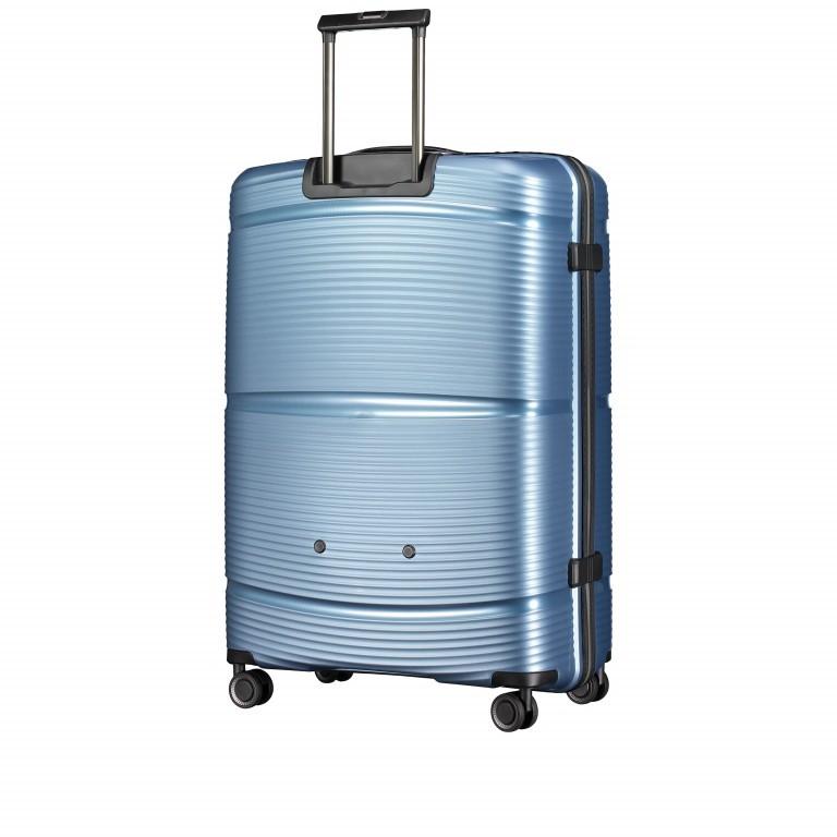 Koffer PP11 75 cm Ice Blue, Farbe: blau/petrol, Marke: Franky, EAN: 4251672738746, Abmessungen in cm: 52.0x75.0x31.0, Bild 6 von 8