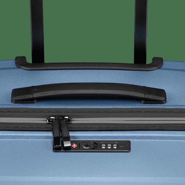 Koffer PP11 75 cm Ice Blue, Farbe: blau/petrol, Marke: Franky, EAN: 4251672738746, Abmessungen in cm: 52.0x75.0x31.0, Bild 8 von 8